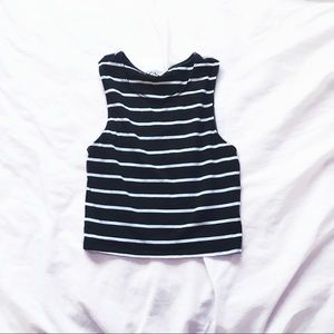 express one eleven crop top